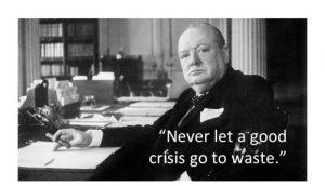 crisis Churchill